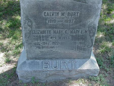CRABTREE BURT, MARY  M - Polk County, Iowa | MARY  M CRABTREE BURT