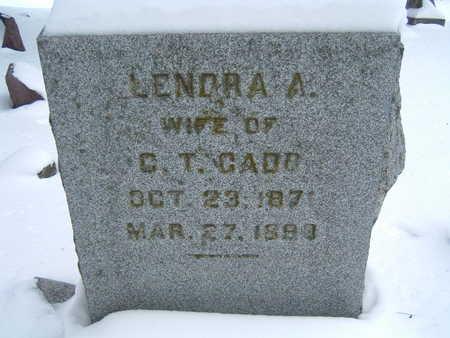 CADE, LENORA A. - Polk County, Iowa | LENORA A. CADE