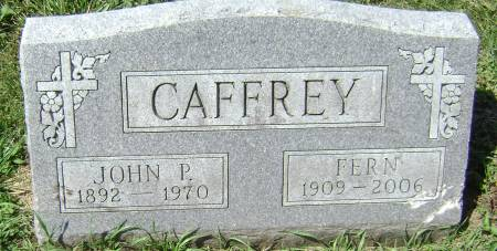 CAFFREY, FERN - Polk County, Iowa | FERN CAFFREY