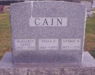 CAIN, DELLA F. - Polk County, Iowa | DELLA F. CAIN