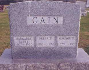 CAIN, GEORGE H. - Polk County, Iowa | GEORGE H. CAIN