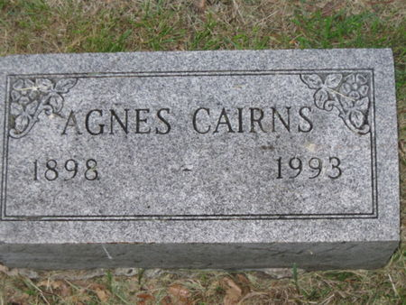 CAIRNS, AGNES - Polk County, Iowa | AGNES CAIRNS