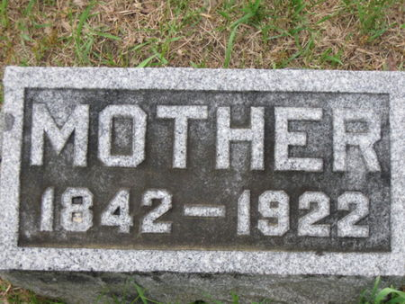 CAIRNS, MOTHER - Polk County, Iowa | MOTHER CAIRNS