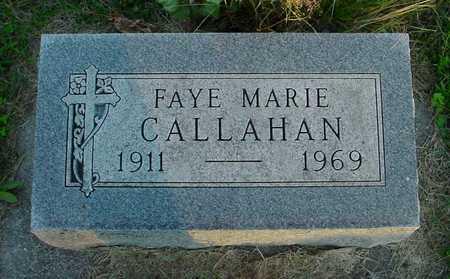 CALLAHAN, FAYE MARIE - Polk County, Iowa   FAYE MARIE CALLAHAN
