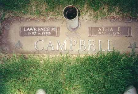 CAMPBELL, LAWRENCE H. - Polk County, Iowa | LAWRENCE H. CAMPBELL