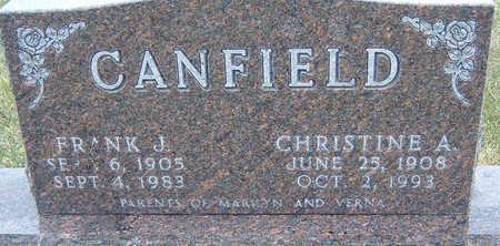 CANFIELD, CHRISTINE - Polk County, Iowa | CHRISTINE CANFIELD