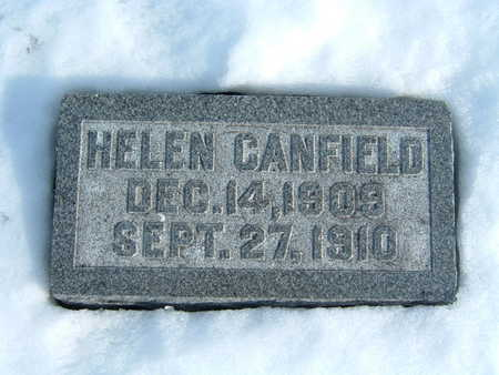 CANFIELD, HELEN - Polk County, Iowa | HELEN CANFIELD