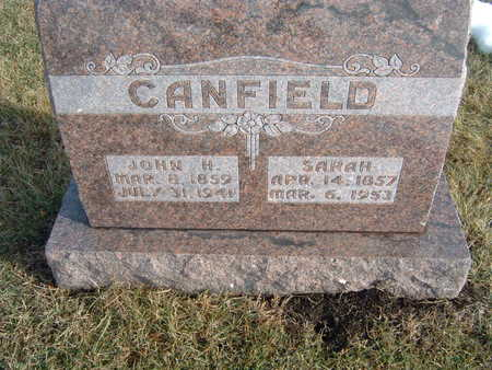 CANFIELD, JOHN H. - Polk County, Iowa | JOHN H. CANFIELD