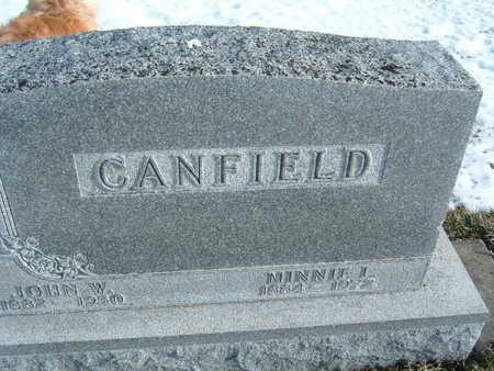 CANFIELD, MINNIE L. - Polk County, Iowa | MINNIE L. CANFIELD