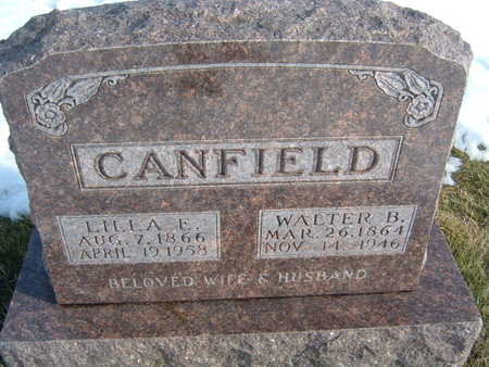 CANFIELD, LILLA E. - Polk County, Iowa | LILLA E. CANFIELD