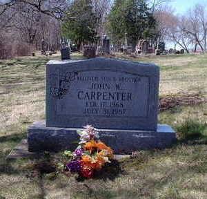 CARPENTER, JOHN W - Polk County, Iowa | JOHN W CARPENTER