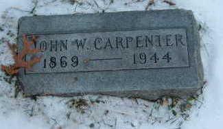CARPENTER, JOHN W. - Polk County, Iowa | JOHN W. CARPENTER