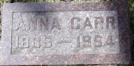 CARR, ANNA - Polk County, Iowa | ANNA CARR