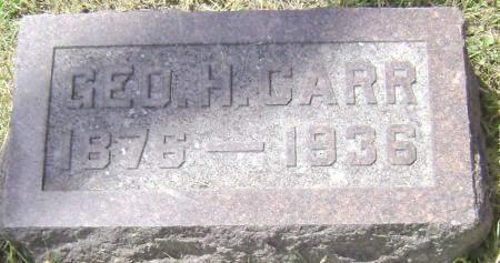 CARR, GEORGE H - Polk County, Iowa | GEORGE H CARR