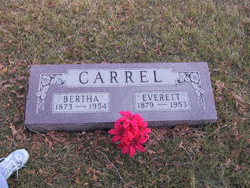 CARREL, BERTHA J. - Polk County, Iowa | BERTHA J. CARREL