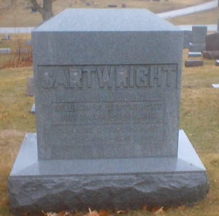 CARTWRIGHT, WILLIAM W. - Polk County, Iowa | WILLIAM W. CARTWRIGHT