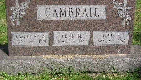 LOUIS, GAMBRALL - Polk County, Iowa   GAMBRALL LOUIS