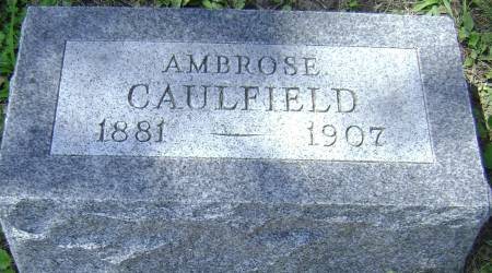 CAULFIELD, AMBROSE - Polk County, Iowa | AMBROSE CAULFIELD