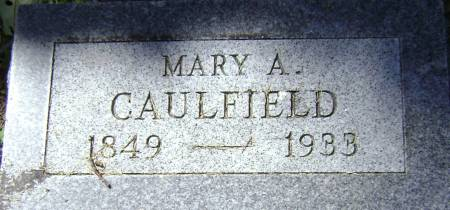 CAULFIELD, MARY A - Polk County, Iowa | MARY A CAULFIELD