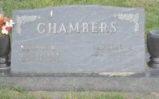 CHAMBERS, PAULINE - Polk County, Iowa | PAULINE CHAMBERS