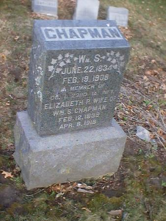 CHAPMAN, WILLIAM S. - Polk County, Iowa | WILLIAM S. CHAPMAN
