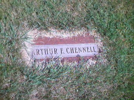 CHENNELL, ARTHUR E. - Polk County, Iowa   ARTHUR E. CHENNELL