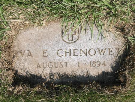 CHENOWETH, EVA E. - Polk County, Iowa | EVA E. CHENOWETH