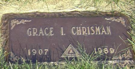 CHRISMAN, GRACE I - Polk County, Iowa   GRACE I CHRISMAN
