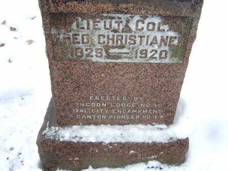 CHRISTIANEN, FRED - Polk County, Iowa | FRED CHRISTIANEN