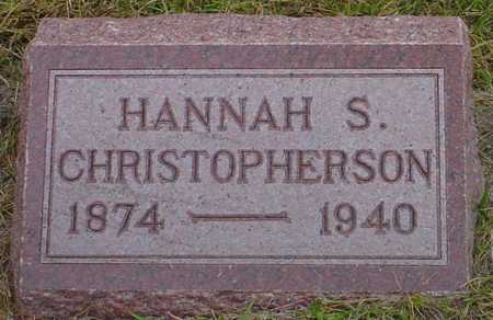 CHRISTOPHERSON, HANNAH S. - Polk County, Iowa | HANNAH S. CHRISTOPHERSON