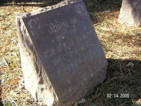 CLAPP, JOHN W. - Polk County, Iowa | JOHN W. CLAPP