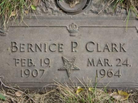 CLARK, BERNICE  P. - Polk County, Iowa   BERNICE  P. CLARK
