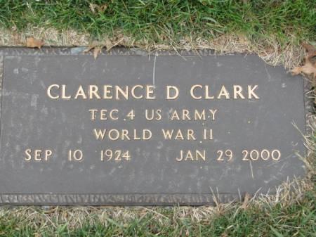 CLARK, CLARENCE  D. - Polk County, Iowa   CLARENCE  D. CLARK