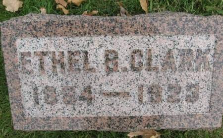 CLARK, ETHEL - Polk County, Iowa | ETHEL CLARK