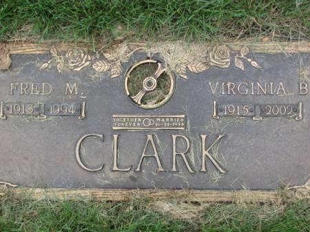 CLARK, FRED  M. - Polk County, Iowa | FRED  M. CLARK