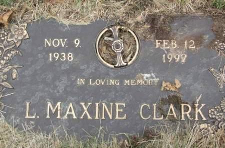 CLARK, L.  MAXINE - Polk County, Iowa | L.  MAXINE CLARK