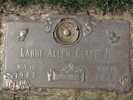 CLARK, JR., LARRY  ALLEN - Polk County, Iowa   LARRY  ALLEN CLARK, JR.