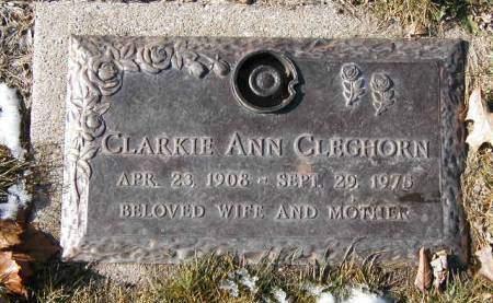 ACKELSON CLEGHORN, CLARKIE  ANN - Polk County, Iowa | CLARKIE  ANN ACKELSON CLEGHORN