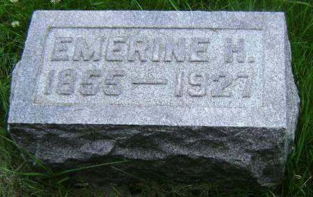 CLEMENS, EMERINE H - Polk County, Iowa   EMERINE H CLEMENS