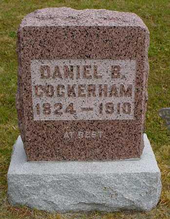 COCKERHAM, DANIEL B. - Polk County, Iowa | DANIEL B. COCKERHAM