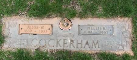 COCKERHAM, NELLIE  E. - Polk County, Iowa | NELLIE  E. COCKERHAM
