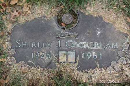 COCKERHAM, SHIRLEY  J. - Polk County, Iowa | SHIRLEY  J. COCKERHAM