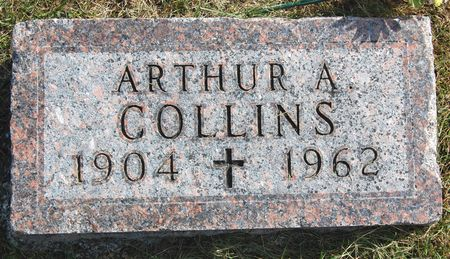 COLLINS, ARTHUR A. - Polk County, Iowa   ARTHUR A. COLLINS