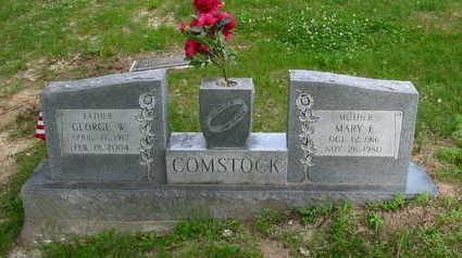 COMSTOCK, GEORGE W. - Polk County, Iowa | GEORGE W. COMSTOCK