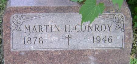 CONROY, MARTIN H - Polk County, Iowa   MARTIN H CONROY