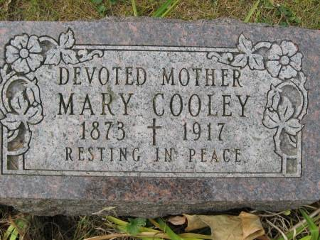COOLEY, MARY - Polk County, Iowa | MARY COOLEY