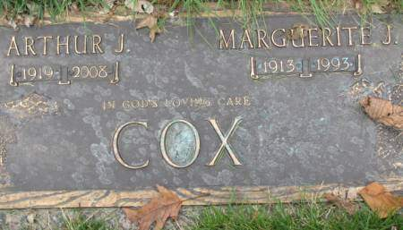 COX, MARGUERITE  J. - Polk County, Iowa   MARGUERITE  J. COX