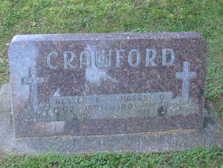 CRAWFORD, HARRY G. - Polk County, Iowa   HARRY G. CRAWFORD