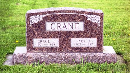 CRANE, GRACE  J. - Polk County, Iowa | GRACE  J. CRANE