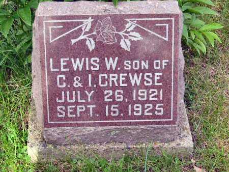 CREWSE, LEWIS W. - Polk County, Iowa   LEWIS W. CREWSE